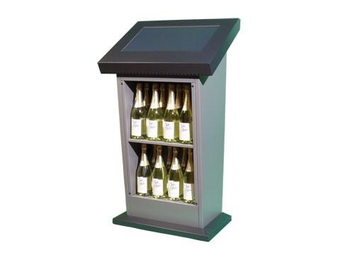 "IT-402 - Flex Info Desk - Flexibles Kiosk-Informations-System mit 22"" (55,88cm) Touchmonitor"