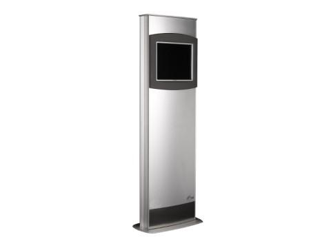 "IT-310-22 - Kiosk-Informations-System (Stele) mit kapazitivem 22"" (55.28 cm) Touchmonitor, ohne PC"