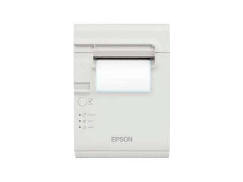 TM-L90LF - Thermodirektdrucker für trägermaterialfreie Etiketten, USB + RS232, weiss