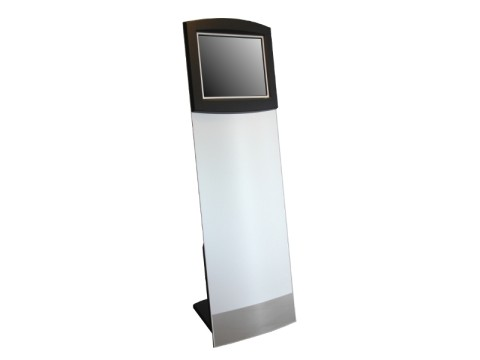 "IT-110-19 - Kiosk-Informations-System (Straight Tower) mit kapazitivem 19"" (48.26 cm) Touchmonitor, ohne PC"