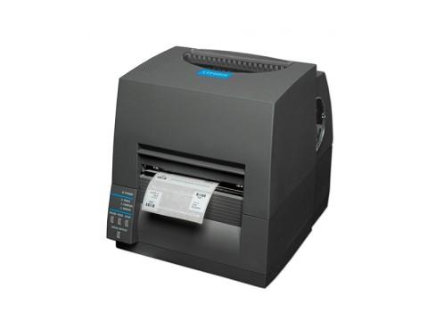CL-S631II - Etikettendrucker, thermotransfer, 300dpi, USB + RS232, schwarz