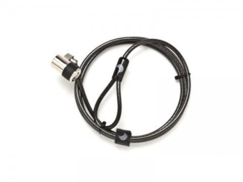 Security - Gerades Kabel mit Einfach-Schloss und Ankerpunkt M5x10mm