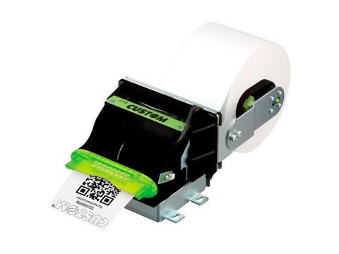 TG2480H III - Kioskeinbaudrucker, thermodirekt, RS232 und USB, mit Cutter (inkl. Papierhalter)