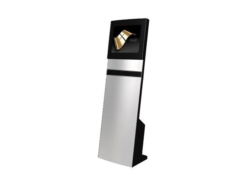 """IT-103-10 - Straight Info Tower * German Made - Kiosk-Informations-System mit 19"""" (48,26cm) SAW-Touchmonitor, **Optional PC**"""