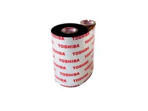 Farbband - Harz kratzfeste/lösungsmittelbeständige Qualität, 600m x 83mm, schwarz, 1 Zoll-Kern, Außenwicklung