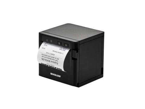 SRP-Q302 - Thermo-Bondrucker mit Front-Ausgabe, 203dpi, USB + Ethernet + WLAN, schwarz