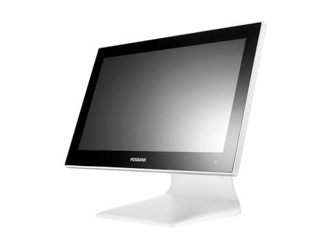 """APEXA GW 1560 - Lüfterloses Touchsystem mit Intel Celeron J1900 und kapazitivem 15.6"""" (39.62cm) Widescreen-Touchdisplay, weiß"""