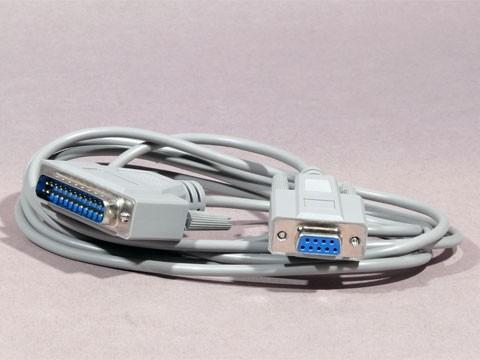 Kabel für seriellen Bondrucker/ Kundendisplay ca. 1.5m **lichtgrau**