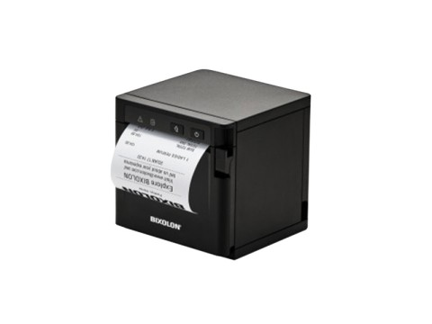 SRP-Q302 - Thermo-Bondrucker mit Front-Ausgabe, 80mm, 203dpi, USB + Ethernet + Bluetooth, schwarz