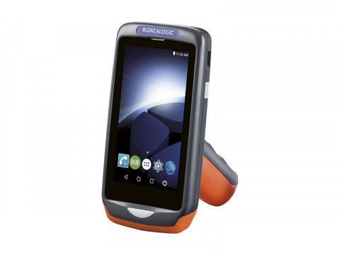 Joya Touch A6 Pistolengriff - Mobiler Computer mit rotem 2D-Imager, Android 7.1 Nougat, dunkelgrau-orange