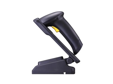 CC-1500K - CCD-Scanner, PS2-KIT, schwarz, inkl. Auto-Sense Stand