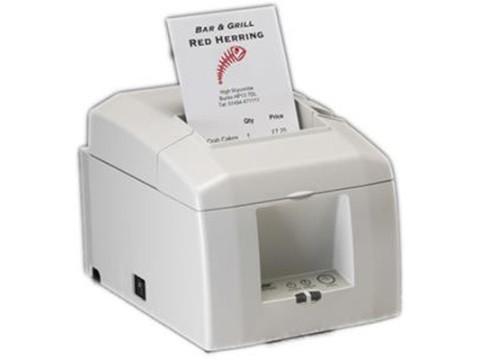 TSP-654II-KIT - Bon-Thermodrucker mit Abschneider, Ethernet, weiss