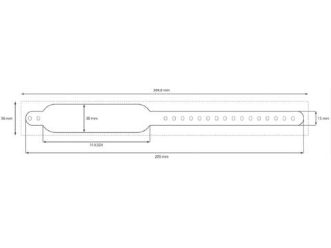 Safe-LCB-Red - Clip-(Schnellverschluss)Armbänder, rot