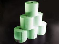 Thermorolle - 80 62 12 (B/D(max.)/K) **grün**, 55g, 50m