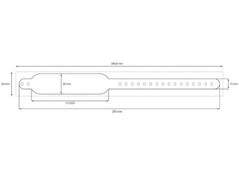 Safe-PB - Clip-(Schnellverschluss)Armbänder Premium, weiss