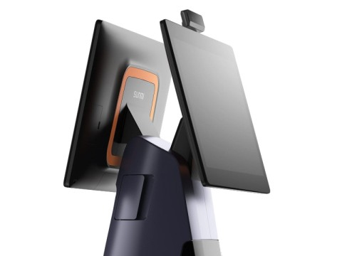 """T2 - Touchsystem, 15.6"""" Widescreen Display + 15.6"""" Kundenanzeige (touchfähig), Android 7.1, 80mm Thermobondrucker"""