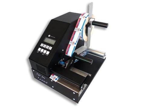 Distri-ST-RW - Etikettenzähler-KIT mit Standard-Etikettensensor (Kerngrösse 25.4 - 76mm), integrierte Grundplatte, MC-11 Aufwickler