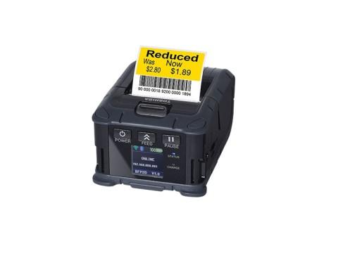 B-FP2D-GH50-QM-S - Mobiler Beleg- und Etikettendrucker, 58mm, USB + Bluetooth, Dual WLAN (2.4 + 5 GHz)