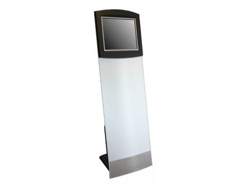 "IT-110-19 - Kiosk-Informations-System (Straight Tower) mit kapazitivem 19"" (48.26 cm) Touchmonitor, ohne PC"
