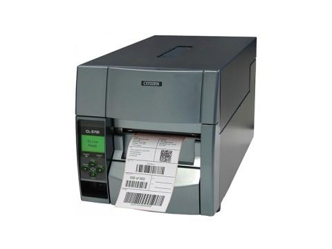 CL-S703II - Etikettendrucker, thermotransfer, 300dpi, USB + RS232 + Parallel, grau