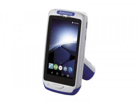 Joya Touch A6 Pistolengriff - Mobiler Computer mit weißem 2D-Imager, Android 7.1 Nougat, grau-blau