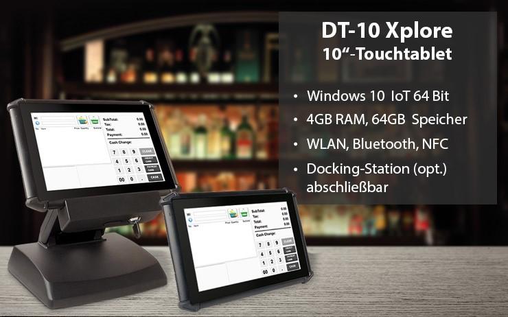 DT10 - Windows 10 Tablet