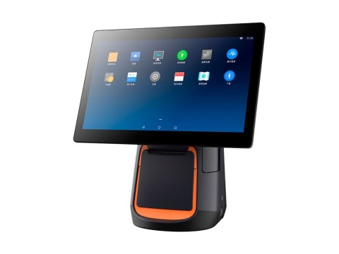 """T2 Mono - Touchsystem, 15.6"""" Widescreen Display, Android 7.1, 80mm Thermobondrucker"""