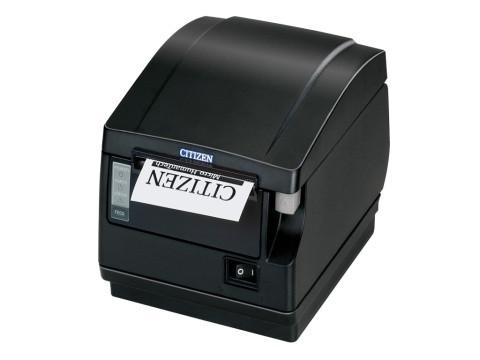 CT-S651 - Thermodrucker mit Abschneider, Frontausgabe, thermodirekt, ohne Schnittstelle, schwarz