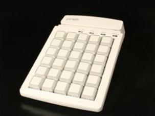 MCI 30 - Programmierbare Kassentastatur, bestückt mit 1er Tasten, USB, weiss