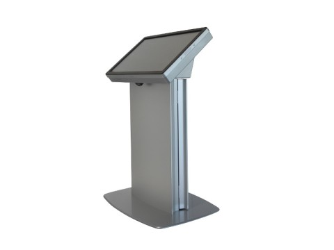 "IT-411-42 - Kiosk-Informations-System (High Info Desk) mit kapazitivem 42"" Touchmonitor, ohne PC"