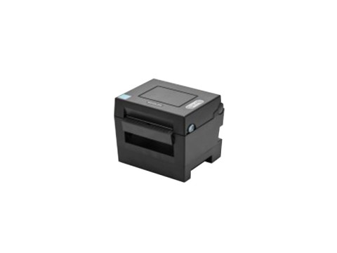 SLP-DL410 - Etikettendrucker für Leporello-Papier, thermodirekt, 203dpi, USB, Abschneider, dunkelgrau