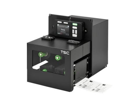 PEX-1230 - Stationäres Etikettendruck-Modul, thermotransfer, 300dpi, Druckgeschwindigkeit 356mm/Sek., USB + RS232 + Ethernet, rechte Hand