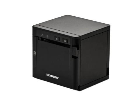 SRP-Q300B - Akkubetriebener Thermo-Bondrucker mit Front-Ausgabe, 180dpi, USB + Ethernet + Bluetooth, schwarz