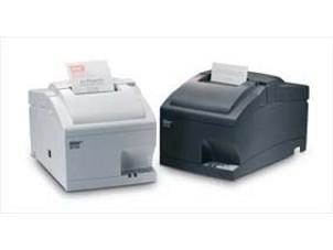SP712 - Bon-Nadel-Drucker, USB, weiß, mit Abrisskante, Mono- und Rot/Schwarz