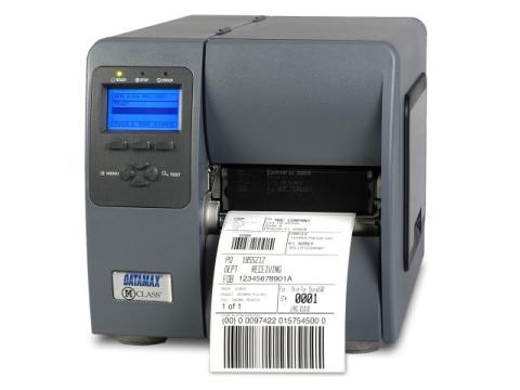 M-4308E - Etikettendrucker, thermodirekt, LCD-Display, 8MB Flash, Metall-Gehäuse