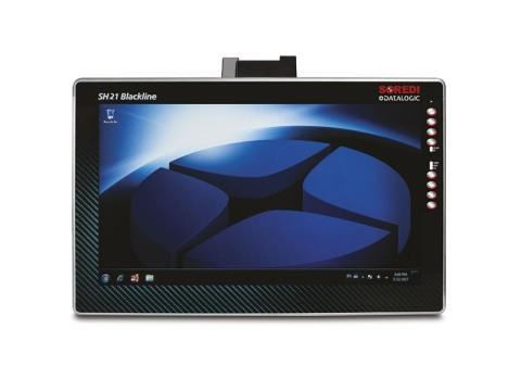 """SH21 - Mobiler Computer mit 21"""" (53.34cm) Blackline kapazitivem Touch, Windows 7, i5Prozessor und 110/230 VAC 120W"""