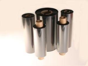 Farbband - Thermotransfer, Wachs, 360m x 110mm, 1 Zoll-Kern, innen beschichtet