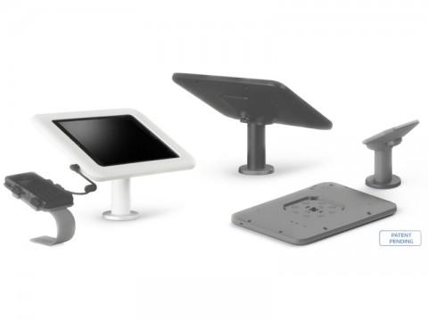 Dock & Charge - Bodenständer mit Ladestation für Samsung, weiss