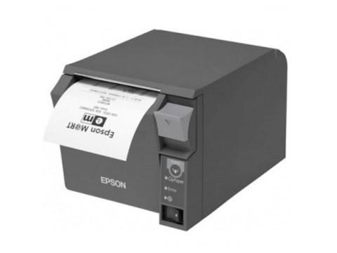 TM-T70II - Bon-Thermodrucker mit Frontausgabe, Abschneider, USB + Bluetooth (iOS), schwarz