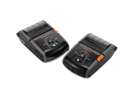 SPP-R200IIIPLUS - Mobiler Thermodirekt-Bondrucker, USB + RS232 + WLAN, schwarz