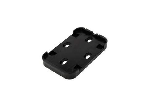 Snap in-Wandhalter + Klebepads, schwarz für MIFARE® Desktop-Leser TWN