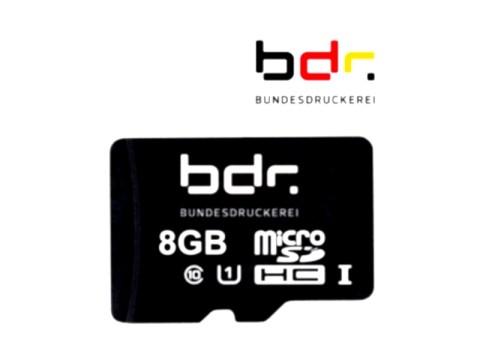 TSE-Bundesdruckerei - MicroSD, 8 GB, Laufzeit 5 Jahre