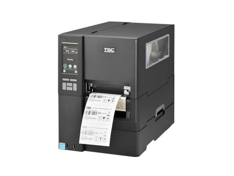 MH241P - Etikettendrucker, thermotransfer, 203dpi, USB + RS232 + Ethernet, interner Aufwickler
