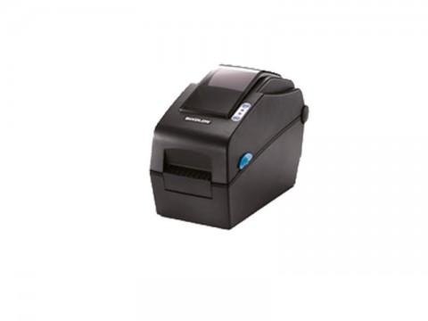 SLP-DX220 - Etikettendrucker, thermodirekt, 203dpi, Druckbreite 54mm, USB + Ethernet, dunkelgrau