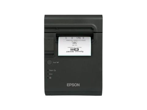 TM-L90LF - Thermodirektdrucker für trägermaterialfreie Etiketten, USB + Ethernet, schwarz