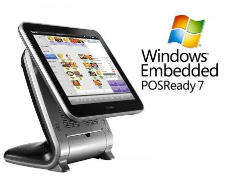 Aktionsartikel: AnyShop Prime Touchsystem schwarz + Microsoft PosReady 7 32bit