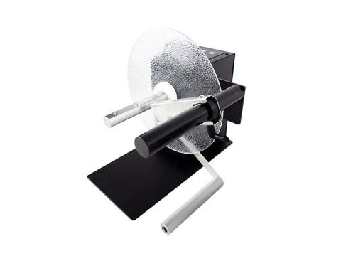 UNI-CAT-1-INCH - Externer Etiketten-Ab-/-Aufwickler, Kern 25.4mm, Rollendurchmesser 220mm, Etikettenbreite 155mm