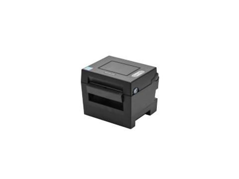 SLP-DL410 - Etikettendrucker für Leporello-Papier, thermodirekt, 203dpi, USB, Peeler, dunkelgrau
