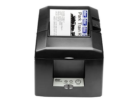 TSP654IIE3-24 - Bon-Thermodrucker mit Abschneider, Ethernet-KIT, schwarz