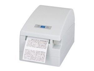 CT-S2000 - Bondrucker mit Frontausgabe und Abschneider, 82.5mm, USB, weiss